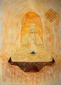 Meditierender Buddha by Ulrike Kröll
