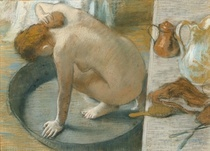 Die Badewanne von Edgar Degas