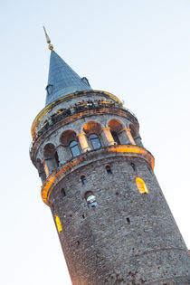Galata Tower by Evren Kalinbacak