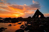 Blackchurch Rock in N Devon  von Pete Hemington