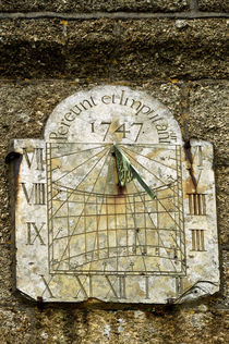 Vertical Sundial, St Buryan Parish Church von Rod Johnson