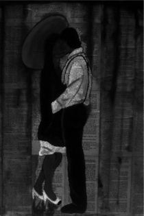 Kissing in the Rain by Mark Shearman