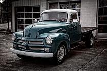 1954 Chevy Truck von Debra and Dave Vanderlaan