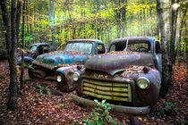 Old Cars von Debra and Dave Vanderlaan