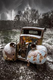 Old Truck in the Smokies von Debra and Dave Vanderlaan