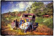 Vintage Plymouth von Debra and Dave Vanderlaan