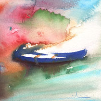 A Boat in Lanzarote von Miki de Goodaboom