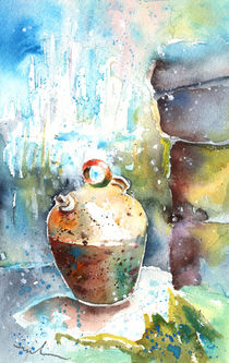 Jar Under A Waterfall by Miki de Goodaboom