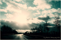 Sunny Sky Motorway Berlin by Kayphoto4u Photography Amersfoort