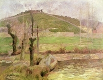 Landscape near Pont-Aven by Paul Gauguin