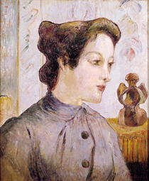 Portrait of a Young Woman by Paul Gauguin