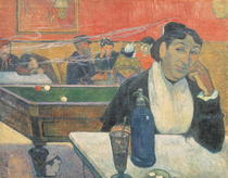 Cafe in Arles von Paul Gauguin