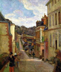 A Suburban Street by Paul Gauguin