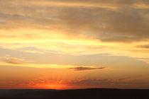 Sonnenuntergang am Fish River Canon / Namibia by Andrea  Hergersberg