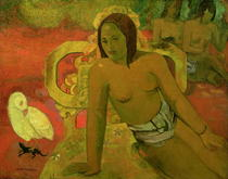 Vairumati by Paul Gauguin