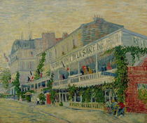 Restaurant de la Sirene at Asnieres by Vincent Van Gogh