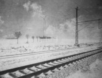 Winterreise II. von Alexandra Köbe