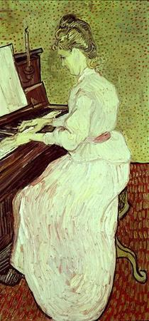 Marguerite Gachet at the Piano by Vincent Van Gogh