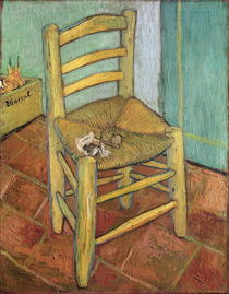 Vincent`s Chair by Vincent Van Gogh