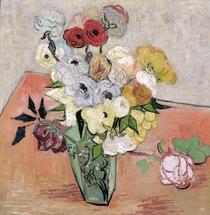 Rosen und Anemonen von Vincent Van Gogh