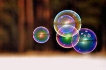 Große Seifenblasen schwebend - Giant Bubbles gliding 30 by Eddie Scott