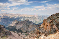 Beartooth Highway Scenic View by John Bailey
