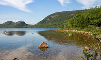 Jordan Pond Shoreline by John Bailey