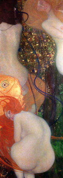 Goldfish by Gustav Klimt