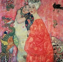 Women Friends by Gustav Klimt