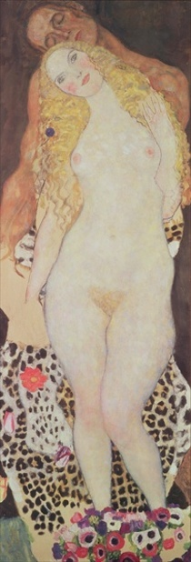 Adam and Eve by Gustav Klimt