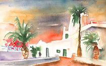 Sunset in Puerto Carmen 02 von Miki de Goodaboom