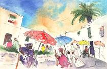 Market in Teguise 01 von Miki de Goodaboom
