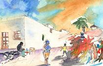Market in Teguise 04 von Miki de Goodaboom