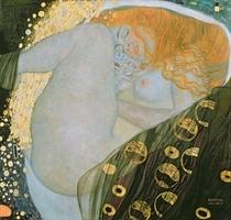 Danae von Gustav Klimt