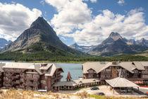 Many Glacier Hotel von John Bailey