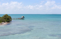 The Waters Of Pigeon Key von John Bailey