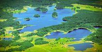 Luftaufnahme Osterseen von Björn Kindler