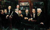 The Hamburg Convention of Professors by Max Liebermann