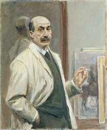 Self Portrait by Max Liebermann
