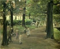 Die Straße von Max Liebermann