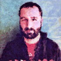 Portrait of husband von Ale Di Gangi