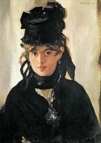 Berthe Morisot mit einem Veilchenstrauß von Edouard Manet