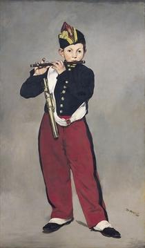 Der Querpfeifer von Edouard Manet
