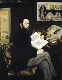 Emile Zora von Edouard Manet