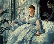 Lesend von Edouard Manet