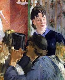 Die Kellnerin von Edouard Manet