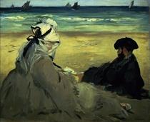 Am Strand von Edouard Manet