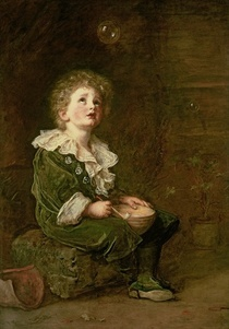 Bubbles by Sir John Everett Millais