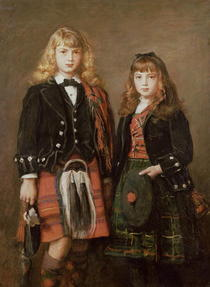 Two Bairns by Sir John Everett Millais
