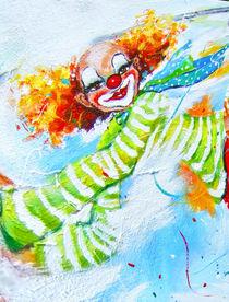 Clown Tobi von Barbara Tolnay